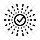 Approved Mark Center Icon
