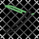 Razor Straight Icon