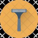 Razor Barber Safety Icon