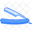 Razor Straight Shaving Icon