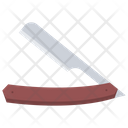 Straight Razor Shaving Icon