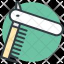 Razor Barber Straight Icon
