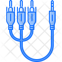 Rca Jack Cable Icon