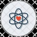 React Orbit Science Symbol Icon