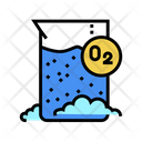 Chemical Reaction Oxygen Icon