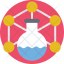 Chemical Reaction Funnel Icon
