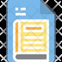 Book Read Education File Icon