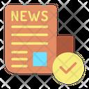 News Readm Read News Read News Paper Icon