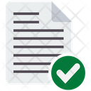 Readability Check Research Review Document Review Icon