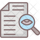 Correcting Errors Correcting Process Proofreading Icon