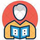 Reader Learner Student Icon