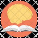 Brain Reading Book Icon