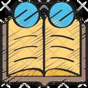 Reading Books Pastime Icon