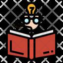 Reading Study Student Icon