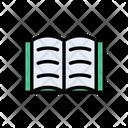 Reading Open Book Icon