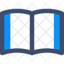 M Reading Reading Open Book Icon
