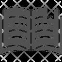 Book Bookmark Reading Icon