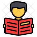Reading Read Student Icon