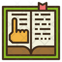 Reading Online Learning Icon