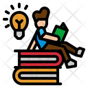 Reading Book Student Icon