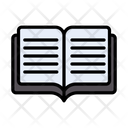 Open Reading Studying Icon
