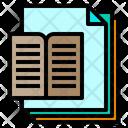 Book Files Paper Icon