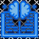 Brain Book Education Icon