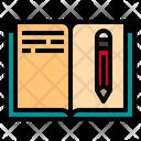 Book Pen School Icon