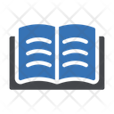 Reading Open Book Book Icon