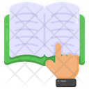 Reading Book Booklet Icon