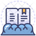 Reading Book Cloud Icon