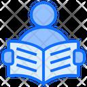 Reading Book Hobby Icon