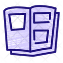 Reading Book Education Icon
