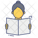 Reading Book Learning Icon