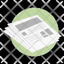 Reading News Icon