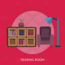 Reading Room Read Icon