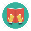 Book Reading Education Icon