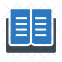 Reading Book Open Icon