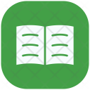 Reading Book Notpad Icon