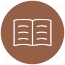 Reading Bookmarker Notbook Icon