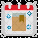Book School Calendar Icon