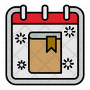 Book School Calendar Icon