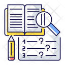 Reading Examination Icon