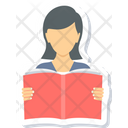 Reading Girl Icon