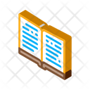 Open Book Learning Icon