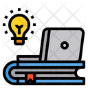 Learning Book Laptop Icon