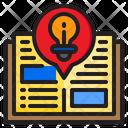 Reading Idea Book Blub Icon