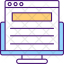 Reading Official Documents Icon