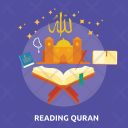 Reading Quran Icon