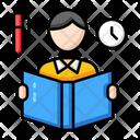 Reading Education School Icon